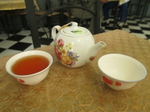 Tea in Mary, Turkmenistan