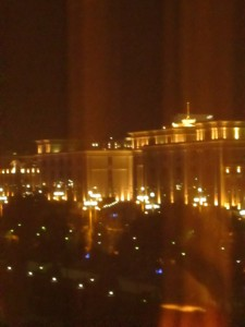 Ashgabat at night