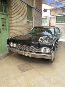 Shah.s secret police car