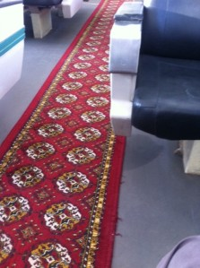 Carpets on the Sharq Express