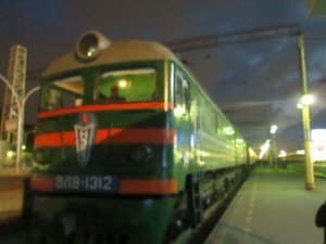 Night train to Baku