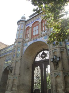 Tehran old city wall and gate