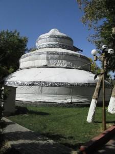 3-story yurt in Osh