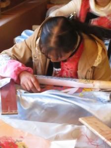 Baisha embroidery master at work
