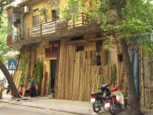 Bamboo scaffolding shop