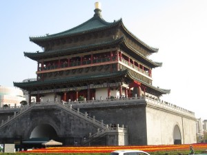 The Bell Tower in Xi'an