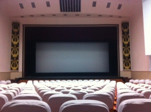 Empty cinema in Kunming