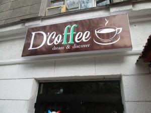 D'Coffee in Bishkek