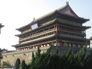The Drum Tower in Xi'an