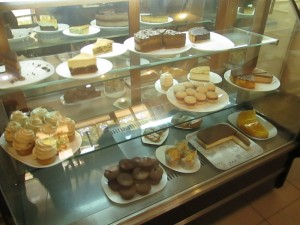 Great cakes in Tashkent at Kafe