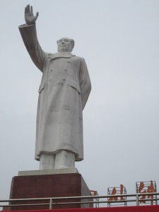 Mao statue in Chengdu