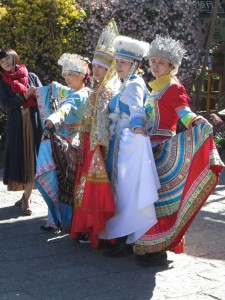 Naxi costumes in Lijiang