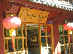 Prague Cafe in Lijiang