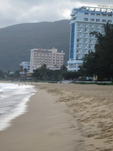 Hotel by the beach in Quy Nhon