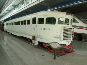 Michelin carriage on the Kunming to Hanoi line