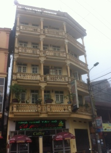French colonial architecture in Sapa