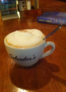 Coffee in Kunming at Salvador's