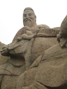 End of the Silk Road in Xian