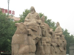 Start of the Silk Road in Xi'an