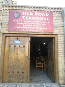 Silk Road Tea House in Bukhara