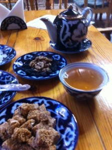 Tea in Bukhara at Silk Road Tea House