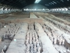 Terracotta Army near Xi'an