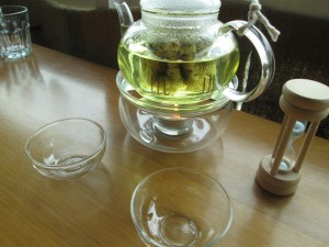 Chrysanthemum tea at The Brew Culture in Kuala Lumpur