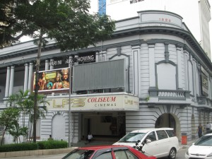 Coliseum cinema in Kuala Lumpur