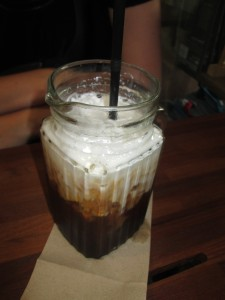 Iced coffee at Gallery Drip in Bangkok
