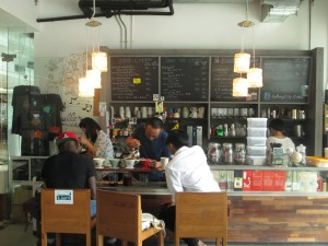 Coffee shop in Bangkok