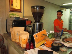 Good baristas at Feel Good Coffee in Phnom Penh