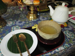 Tea in Bangkok at the Museum of Floral Culture