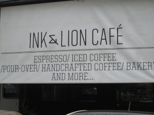 Ink & Lion Cafe in Bangkok