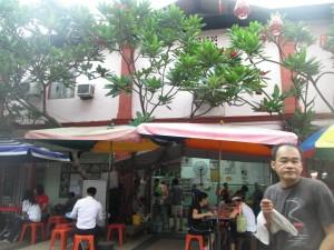 Breakfast in Johor Bahru at Hua Mui