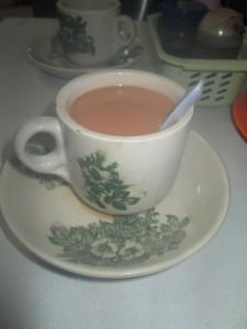 Traditional tea in Johor Bahru