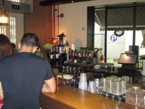 Inside Chye Seng Huat Hardware coffee shop in Singapore