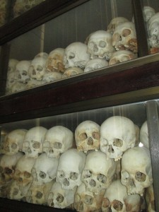 Killing Fields genocide memorial