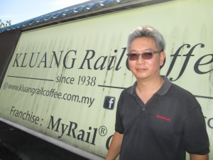 Visit to Kluang Rail Coffee with one of the owners