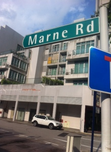 Marne Road in Singapore
