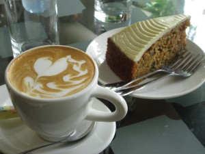 Best coffee in Hoi An with cake