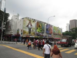 Odeon cinema in Kuala Lumpur
