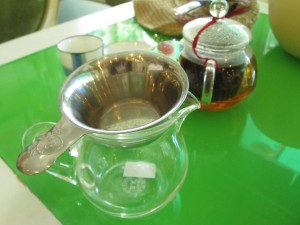 Best tea in Saigon at Royal Tea House