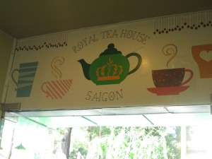 Royal Tea House in Saigon