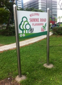 Somme playground in Singapore