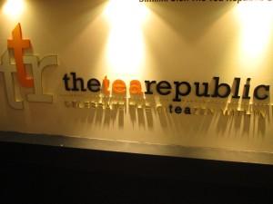 The Tea Republic tea room in Kuala Lumpur