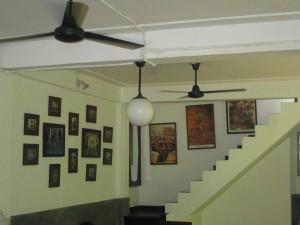 Inside Bakoel coffee shop in Jakarta