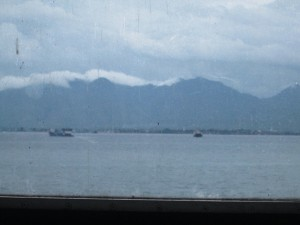 Bali seen from Banyuwangi on East Java