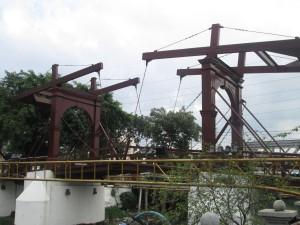 Dutch canal bridge in Jakarta