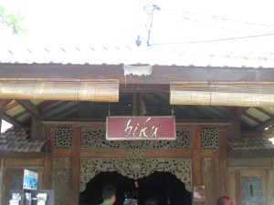 Biku tea room on Bali