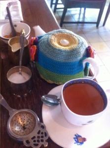 Indonesian tea on the menu at Biku Tea Lounge on Bali